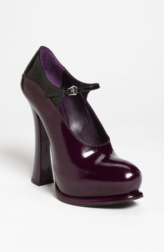 Prada Mary Jane Pump available at #Nordstrom    Yes, please!
