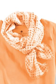 Polka Dot Fringe Scarf: Exceptional Casual Clothing for Men & Women from #TerritoryAhead $34.50
