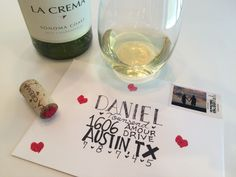 Learn how to use left over wine corks to make stamps for Valentine's Day #DIY