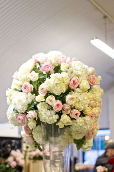 By Appointment Only Design - Wedding at The Savoy - Part 1 : Double Domes of Roses | Flowerona