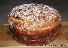 Prosto i swojsko: Chleb orkiszowy na maślance z garnka, wykonany w TM Amish White Bread, Bakery, Food And Drink, Recipes, Breads, Bread Rolls, Recipies, Bread, Ripped Recipes