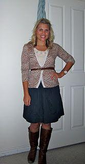 Cute teacher clothes :) and cute blog!