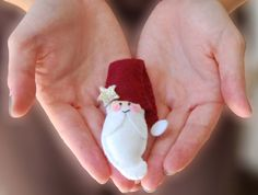Santa in your hands