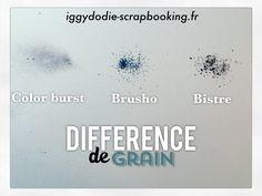 Les colors burst & cie : petit comparatif détaillé