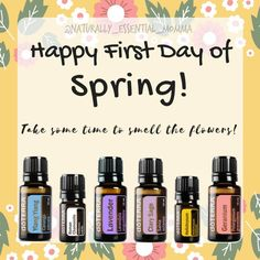 """(@naturally_essential_momma) on Instagram: """"Happy First Day of Spring! 🤗  Take some time to smell the flowers! And let me know what your…"""""""