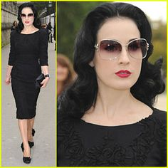 72ae501cd4e2 Dita Von Teese has glorious Fake Breast Implants! Dita Von Teese recently  gave a candid interview