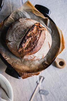 Homemade sourdough bread Sourdough Bread, Camembert Cheese, Homemade, Recipes, Food, Yeast Bread, Home Made, Recipies, Essen