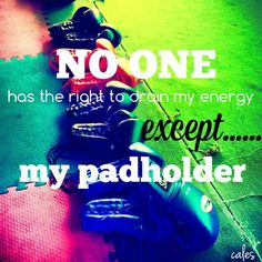 NO ONE...except my pad holder! #kickboxing #muaythai