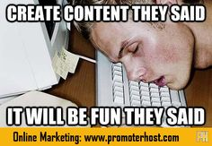 #ContentCreation #OnlineMarketing #Blogging
