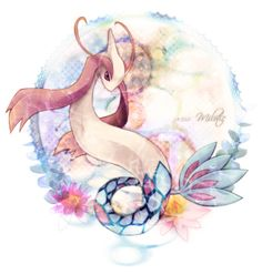 Milotic. Considered to be one of the most beautiful POKeMON, possibly the most beautiful. It's also very cool and powerful. Not to mention huge.