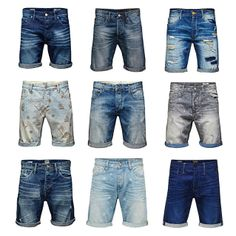 Who could ask for a better combination for summer? Denim mixed with shorts. - Men's style, accessories, mens fashion trends 2020 Mens Casual Jeans, Denim Pants Mens, Denim Shorts, Men's Denim, Robin Jeans, Summer Denim, Denim Ideas, Denim Fashion, Jeans Style
