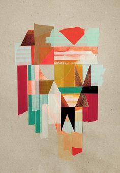 "Anna Taratiel | Design*Sponge  Anna Taratiel. Often working under the name ""Ovni,"" Anna creates stunning work that uses colorful tape as its main medium."