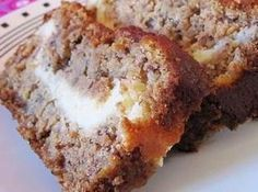 Yum... I'd Pinch That! | Cream cheese filled Banana Bread just what I was looking for!!! Making tonight