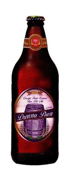 Cerveja Wensky Drewna Piwa, estilo Old Ale, produzida por Wensky Beer, Brasil. 9.5% ABV de álcool.
