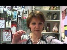 Декупаж Анна Стойчева Состаривание деревянных предметов - YouTube