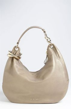 905006e865f Jimmy Choo  Solar - Large  Pearlized Metallic Leather Hobo available at   Nordstrom Cute