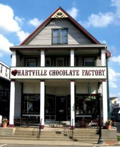 Hartville Chocolate Factory - Historic Downtown Hartville, Ohio
