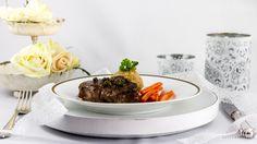 Steak in Pfefferrahmsauce