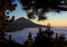 #Teide desde el mirador de la #cumbre, #TENERIFE