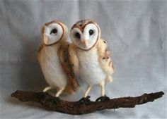 Image result for Needle felted Owl