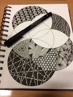 #Zentangle #Deko #Bild