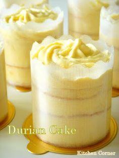 Durian Cake.. yum.