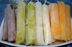 How to make Ice Candy (smooth and soft - with corn starch as an ingredient)  http://melyskitchen.blogspot.ca/2014/03/how-to-make-ice-candy-for-sale-version.html