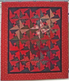 Arabic Lattice Quilt by Joan Hodgeboom, quilt for sale at Quilt Gallery.  Love the plaid block which makes a focal point!