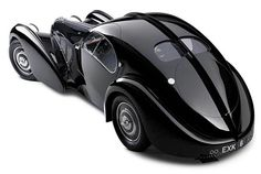 The Bugatti Type 57S Atlantic is a beautiful classic car that recently became the most expensive car ever sold.