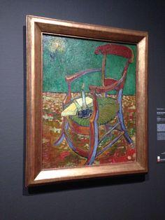 La sedia di Gauguin realizzato nel 1888
