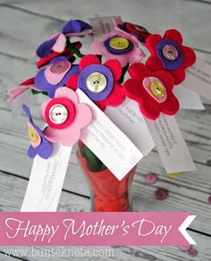 Bunte Knete von Frl. Päng: Happy Mother's Day - DIY