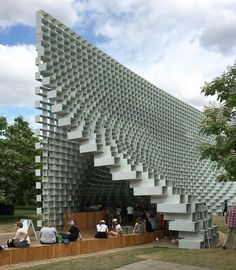 Serpentine Pavilion by - Architecture and Home Decor - Bedroom - Bathroom - Kitchen And Living Room Interior Design Decorating Ideas - Unique Architecture, School Architecture, Landscape Architecture, Big Architects, Famous Architects, Bjarke Ingels Architecture, Wall Design, House Design, Brick Projects
