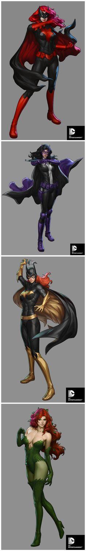 DC Comics Cover Girls