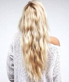 Crimped Waves - Hairstyles and Beauty Tips