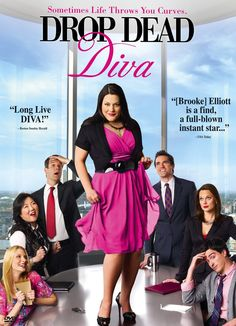 Drop Dead Diva.... I have watched 3 complete series of this show... wish it would come to our local TV