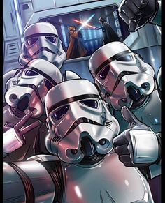 Star Wars Selfie by James Wetherell