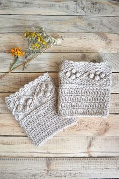 Knit legwarmers Leg warmers womens Beige legwarmers Cable knit legwarmers Boot socks Boot cuffs Boot toppers Ankle warmers Fashion accessory by DinaStyleKnits on Etsy Crochet Boot Cuffs, Crochet Boots, Knit Crochet, Wool Socks, Knit Mittens, Knit Leg Warmers, Boot Toppers, Chunky Boots, Cable Knit