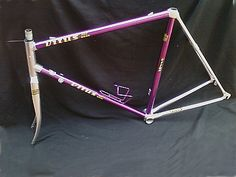 Racing frame bike Vitus color purple and silver in aluminum 979 Dural