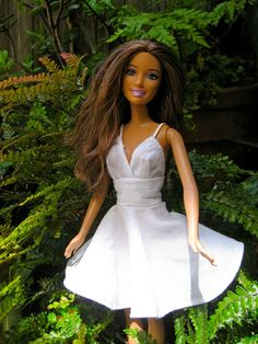 plain white hankie dress (inspiration)