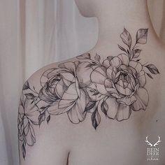Rose shoulder tattoo for women - 70 Awesome Shoulder Tattoos