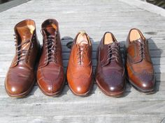 Nice shoes for business casual. Don't wear these to formal meetings.