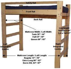 Boys loft beds