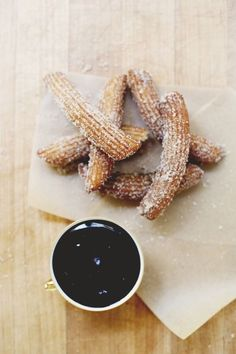 Churros Con Chocolate | 17 Classic Spanish Dishes You Need In Your Life