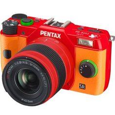 Pentax Digital Single-lens Camera Q10 Evangelion Model TYPE 02: Asuka.