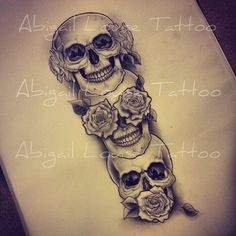 Creative Drawing Left arm Black out two laura of eyes Add canine teeth - Future Tattoos, Love Tattoos, New Tattoos, Body Art Tattoos, Thigh Tattoos, Evil Tattoos, Tatoos, Totenkopf Tattoos, Sugar Skull Tattoos