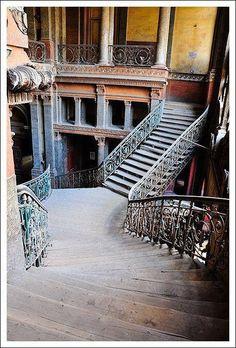 Abandoned Egyptian mansion