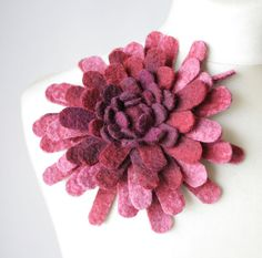 felted flower inspiration for courses £14.25