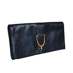 Gucci Women's Blue Python Skin Clutch Handbag Bag - http://bags.bloggor.org/gucci-womens-blue-python-skin-clutch-handbag-bag/