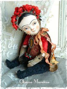 I really love the doll, so stylish. By Oksana Muratova.