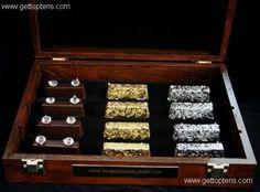Gold and Diamond Chocolates ($1,250) most expensive chocolates